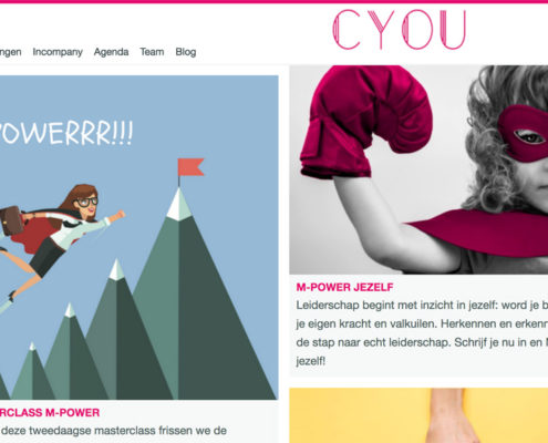 Curious You Trainingen webshop